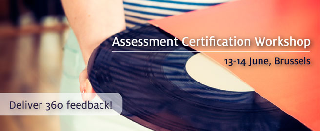Join our Assessment Certification Workshop in Brussels on December 8-9 2014