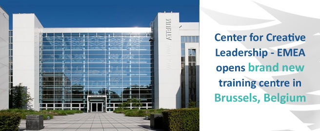 Center for Creative Leadership - EMEA opens brand new training centre in Brussels, Belgium