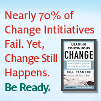 Nearly 70% of Change Initiatives Fail. Yet, Change Still Happens. Be Ready.