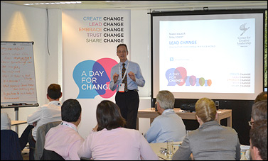Opening day for CCL's EMEA regional office in Brussels, Belgium, was all about creating,  leading and embracing change.